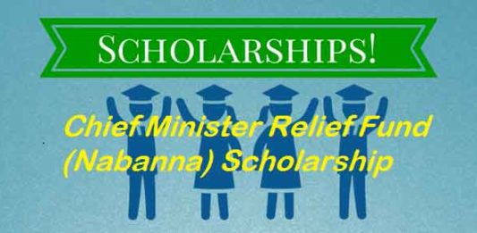 Chief Minister Relief Fund (Nabanna) Scholarship 2019-20